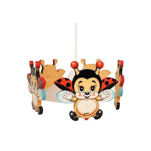 Hanglamp lieveheersbeestjes