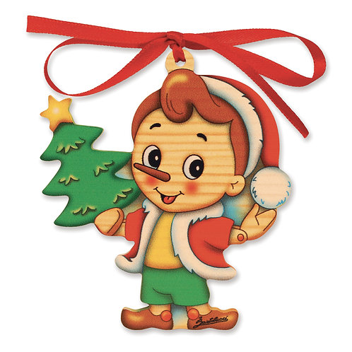 Pinocchio Kerstmis ornament - kerstboom
