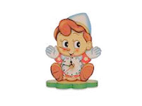 Kleine tafelklok Pinokkio