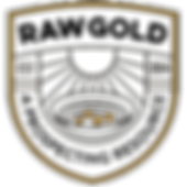 Badge_Black - Transparent - Gold Rocks_D