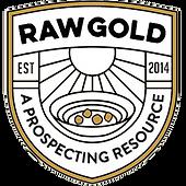 Badge_Black - Transparent - Gold Rocks_D