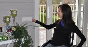 La domótica en la discapacidad                      (Las viviendas domóticas)