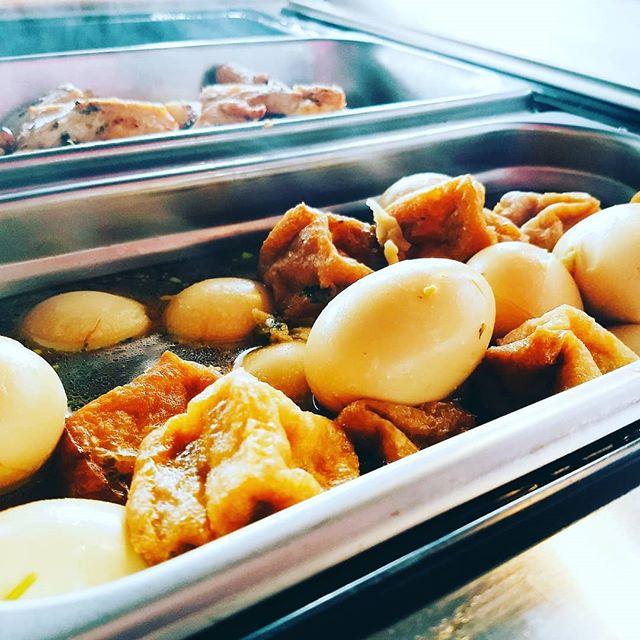 Braised Soy Egg & Tofu