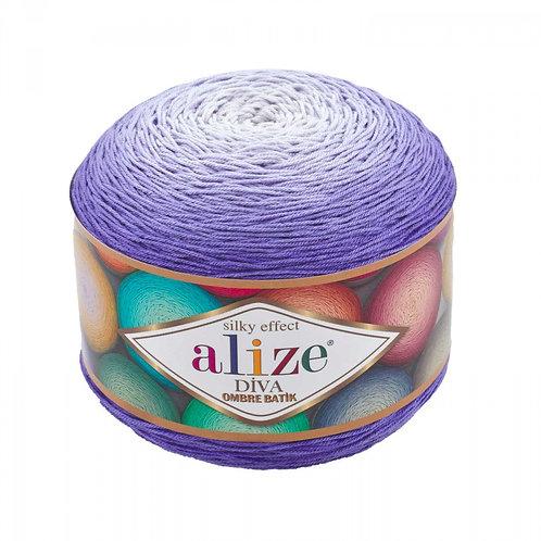 Alize DIVA OMBRE batik 7378 фиалка