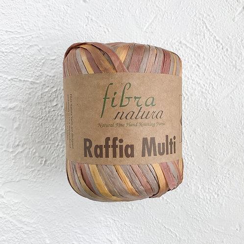 Fibranatura Raffia Multi Солома-какао/117-04