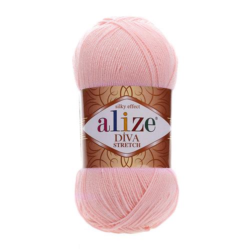 Alize DIVA Stretch 363 розовый