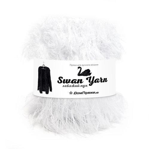 Лебяжий пух Swan Yarn белый