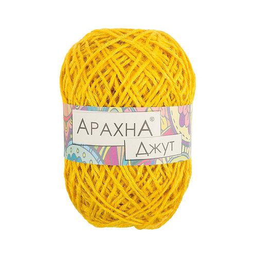 Арахна Джут 014 ярко-жёлтый