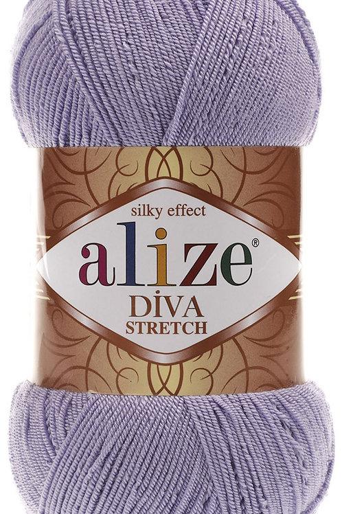 Alize DIVA Stretch 505 пыльная сирень