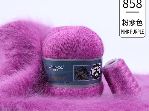 Пух НОРКИ 858 ярко-фиолетовый