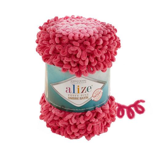 Alize PUFFY fine OMBRE batik 7279