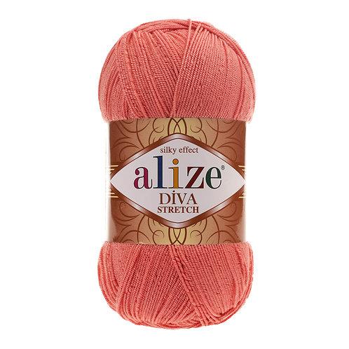 Alize DIVA Stretch 619 коралл