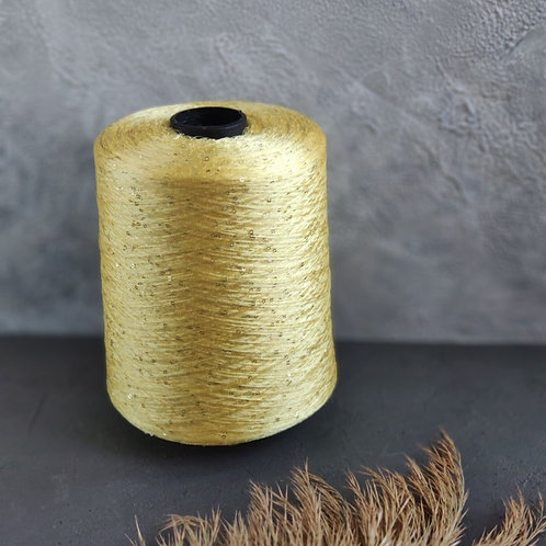 Paillettes (100% полиамид с пайетками) (118-желтый)