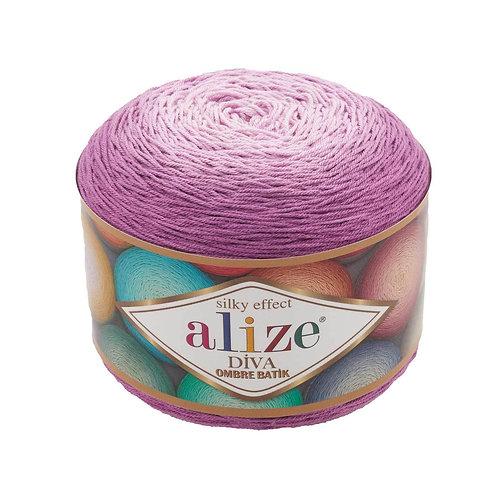 Alize DIVA OMBRE batik 7244 фиолетовый