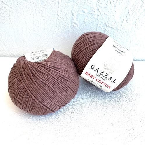 Gazzal Baby Cotton 3455 (какао)