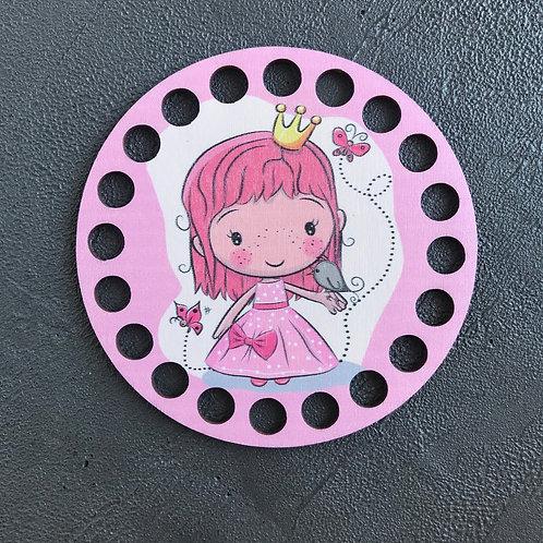 Крышка для корзины 10см Маленькая принцесса