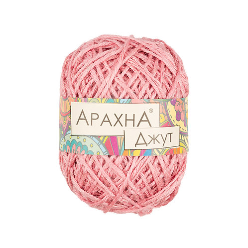 Арахна Джут 018 светло-розовый