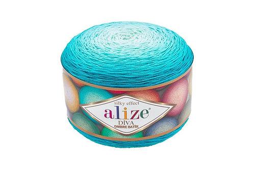 Alize DIVA OMBRE batik 7371 голубой