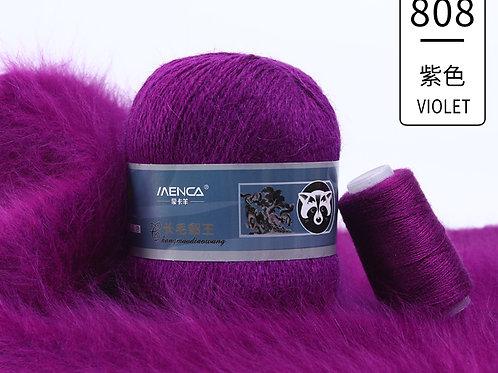 Пух НОРКИ 808 фиолетовый
