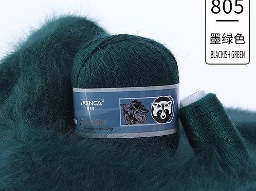 Пух НОРКИ 805 тёмно-зелёный