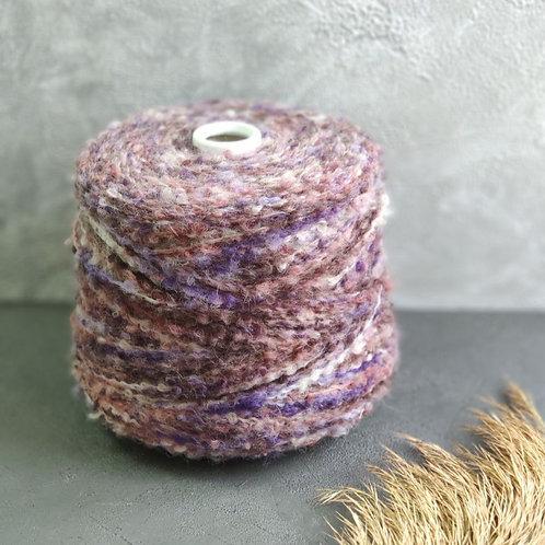 Eclisse БУКЛЕ фиолетовая пудра  (20% альпака, 80% меринос)