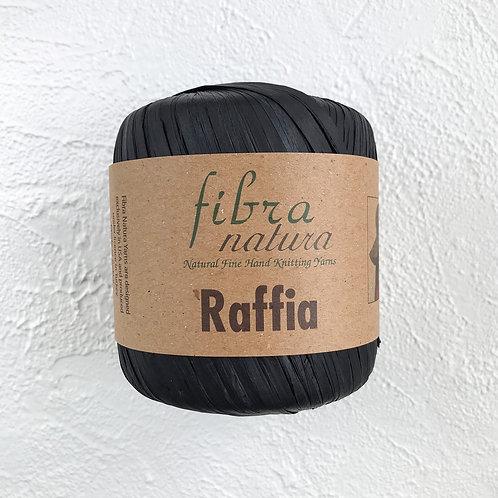 Fibranatura Raffia Чёрный/116-12