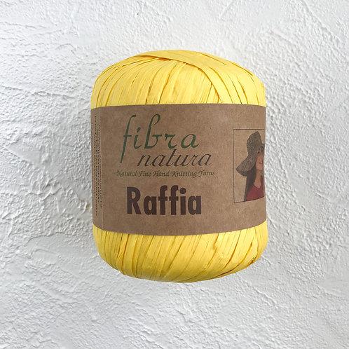 Fibranatura Raffia Жёлтый/116-18