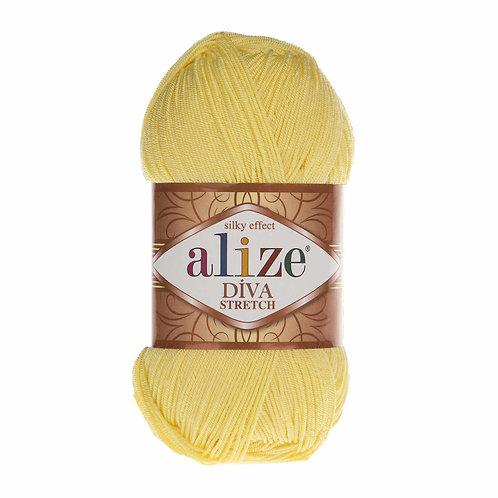 Alize DIVA Stretch 643 желтый