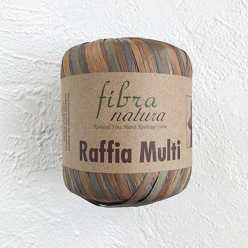 Fibranatura Raffia Multi Солома-хаки/117-03