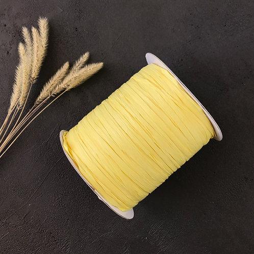 Раффия Ispie (dahlia yellow)