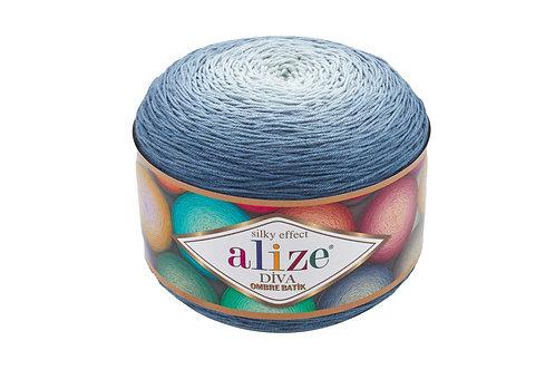 Alize DIVA OMBRE batik 7379 сумерки