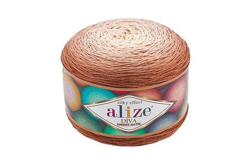 Alize DIVA OMBRE batik 7375 капучино