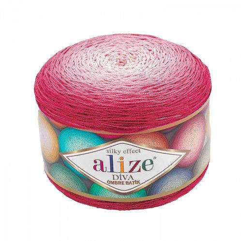 Alize DIVA OMBRE batik 7367 розовый