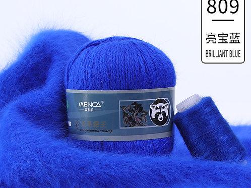 Пух НОРКИ 809 бриллиантовый синий