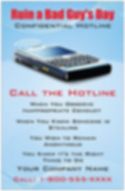 Confidential Hotline Confidential Hotline Awareness Poster 1 Premium Poster Card Stock 11 x 17 This thick stock has a classic, elegant glossy finish with a professional look – perfect for promoting your loss prevention awareness program.