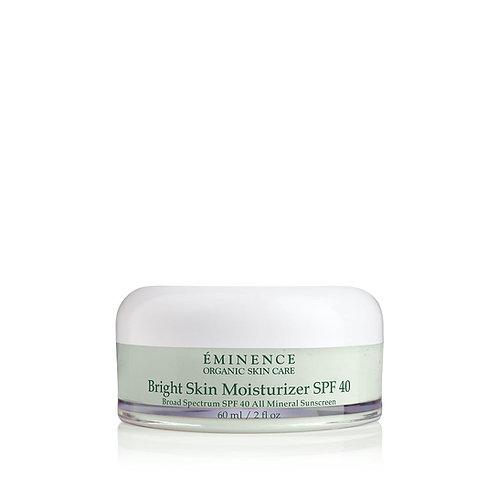 Eminence Organics Bright Skin Moisturizer SPF 40 2oz Retail