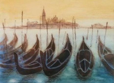 夕景のヴェネツィア