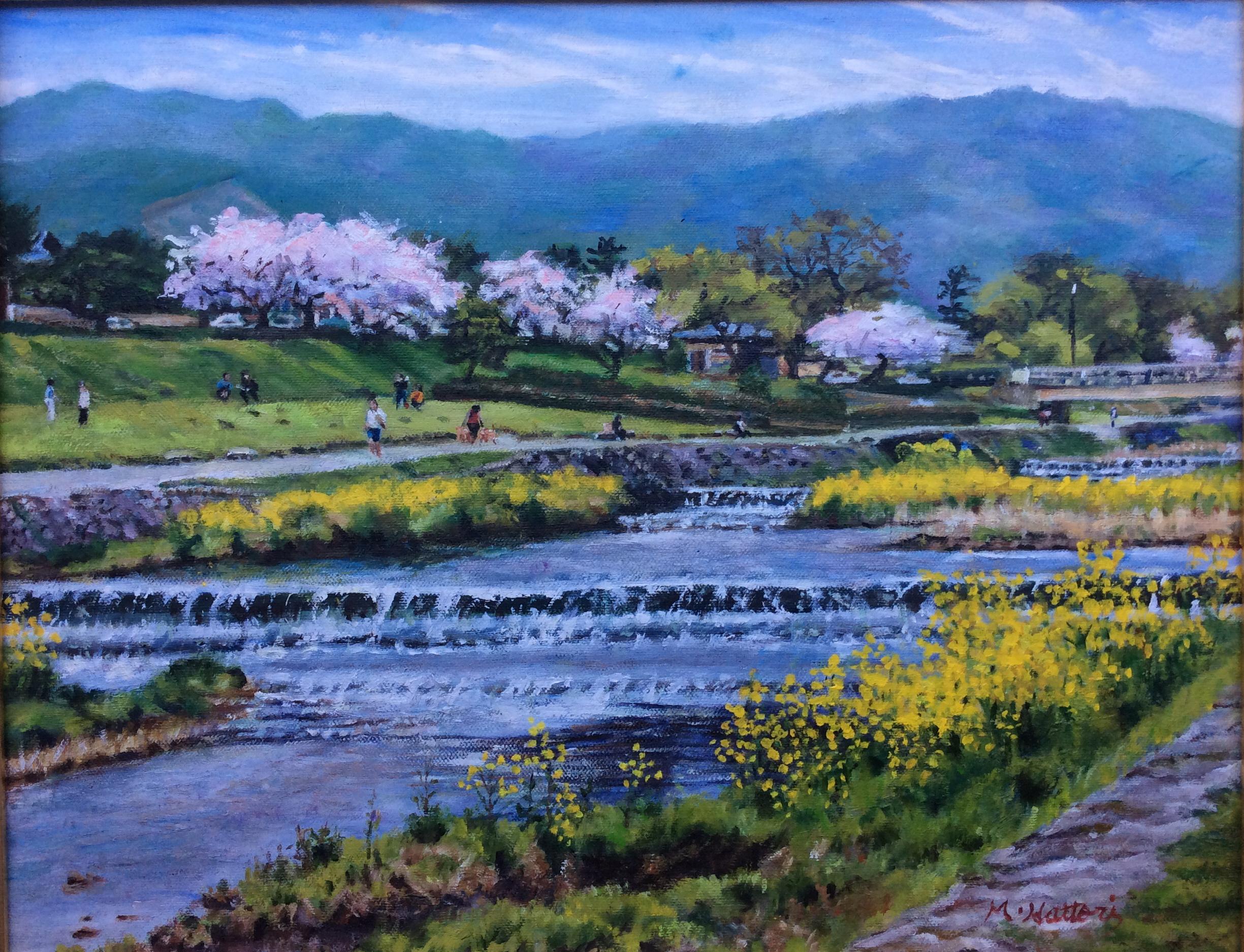 鴨川花の季節