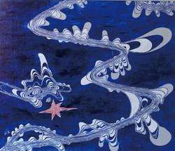 たまねぎの青と白