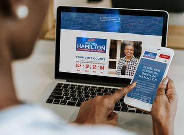 Brand & Bliss - Portfolio - Website Mockup Sm - Hamilton - Laptop + Phone.jpg