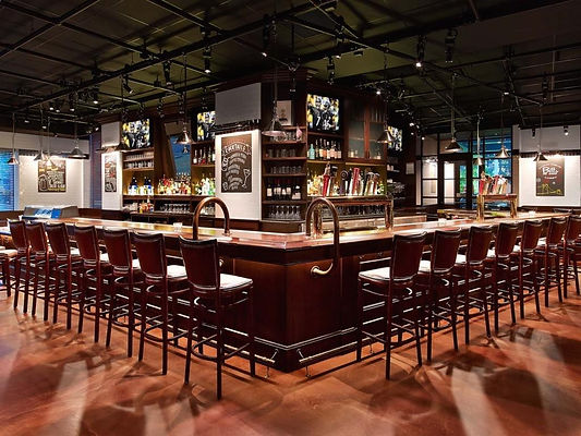 Bill's Bar architecture and design in Pittsburgh, in conjunction with Gensler | Alison Wilkinson design portfolio