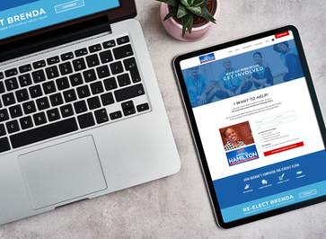 Brand & Bliss - Portfolio - Website Mockup Sm - Hamilton - Tablet.jpg