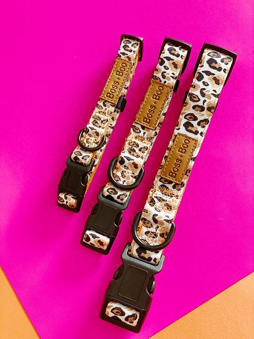 Boss + Boo - Luxe Leopard Collar