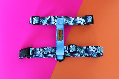 Boss + Boo - Blue in bloom Harness