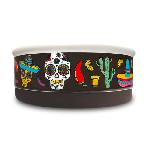 Indie Boho - Skulls Ceramic Bowl