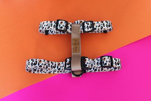 Boss + Boo - Luxe Leopard Harness
