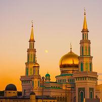 Moskee in Moskou