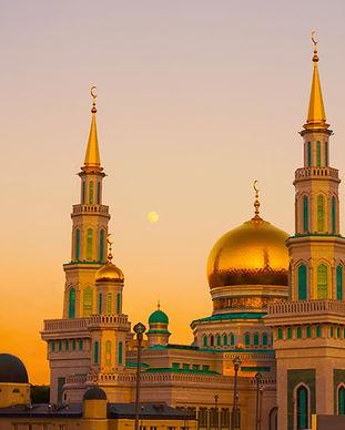 Mezquita en Moscú
