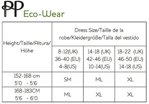 pretty-polly-eco-wear - size-chart-tight