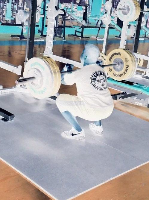 12 Week Weightlifting Template